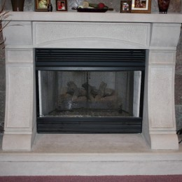 Fireplace Stone Installation and design