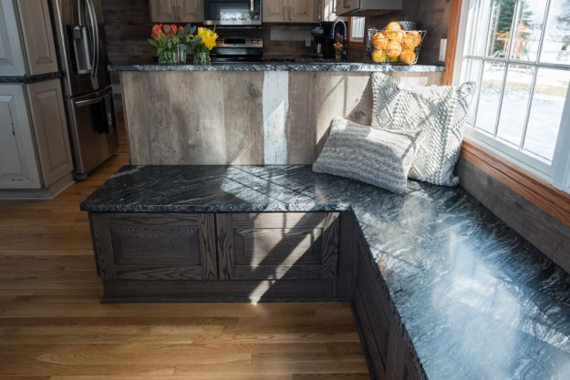 Breakfast Nook Brench | K2 Stoneworks