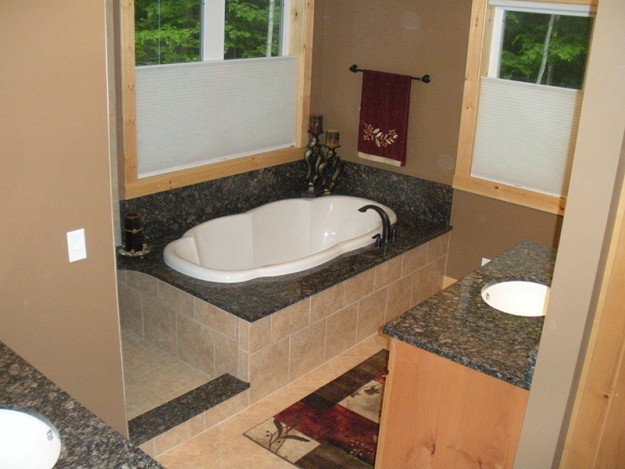 Granite Master Bathroom