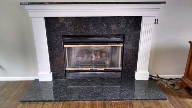 Granite Fireplace Surround