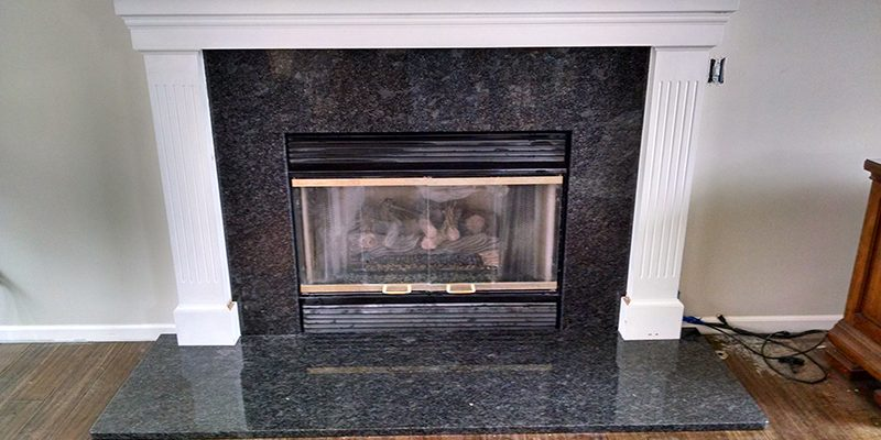 Granite Fireplace Surround K2 Stoneworks