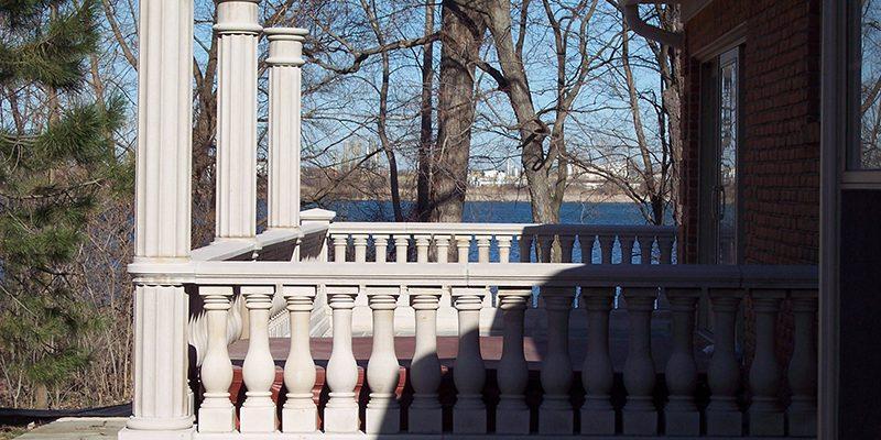 Limestone Porch
