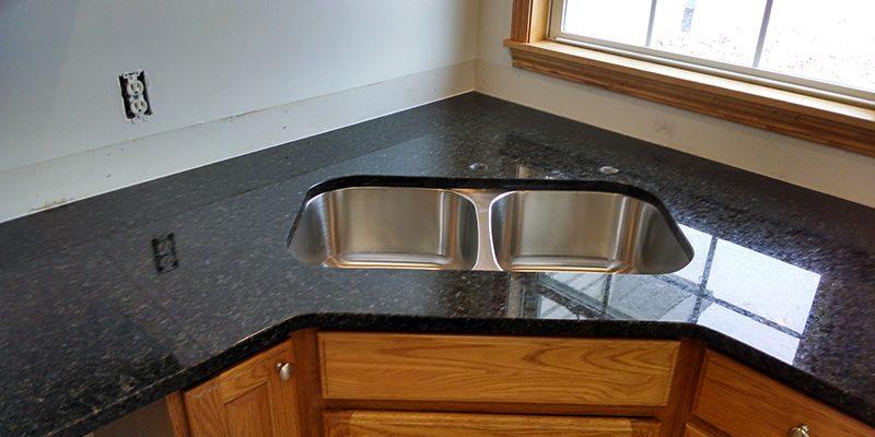 Granite Countertop Stainless Steel Undermount Sink K2